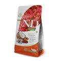 N&D Natural & Delicious Adult Cat Quinoa Skin & Coat Herring, Coconut 1.5kg Dry Food