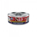 N&D Natural & Delicious Adult Cat Quinoa Weight Management 80g Wet Tin Food