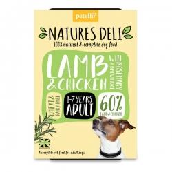 Natures Deli Lamb & Chicken 400g Tray