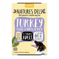 Natures Deli Turkey 400g tray