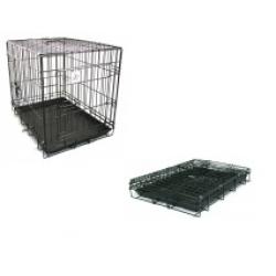 "Dog Life Extra Large Double Door Crate 42"" x 27"" x 31"" 107 x 69 x 78cm"
