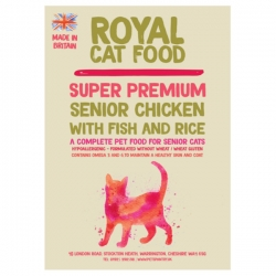 Royal Cat Food Super Premium Senior 7 + 300g